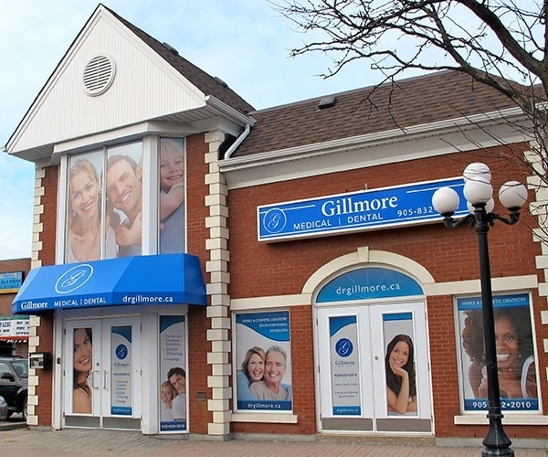 Maple Ontario dental services available at Gillmore Medical Dental