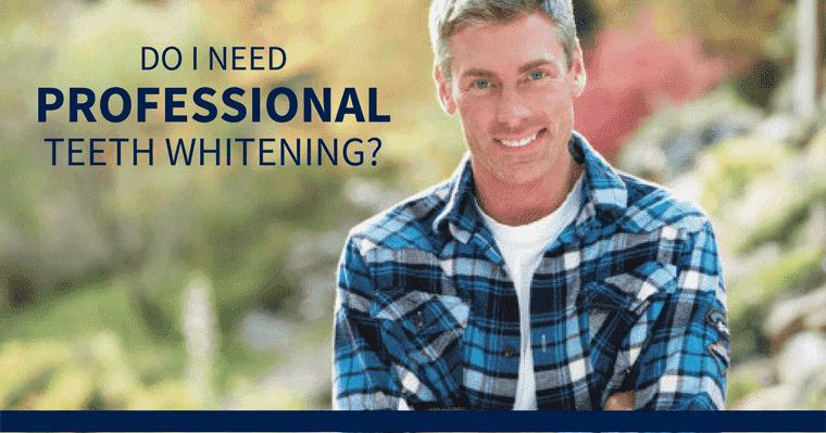 Is professional teeth whitening worth it?