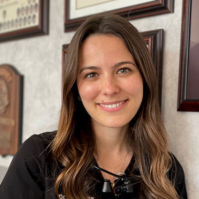 Dr. Hillary Gillmore, who is a dentist in Maple, ON